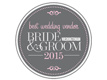 Washingtonian Bride & Groom 2015 Best Wedding Vendor