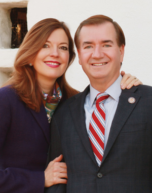 Congressman Ed Royce and Mrs. Marie Thérèse Royce