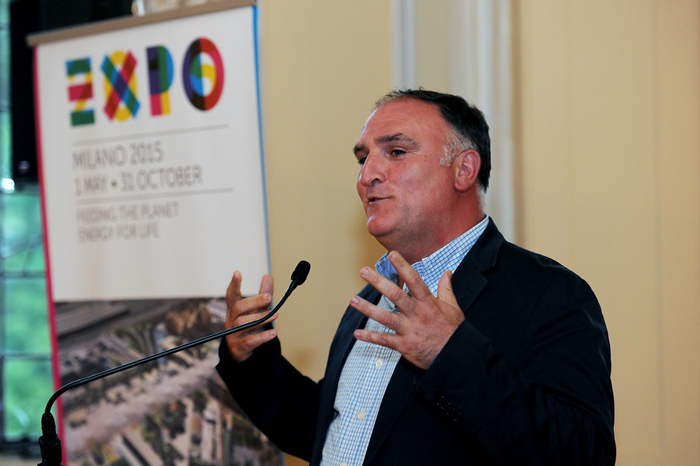 Chef José Andrés Joins Meridian and the Embassy of Italy to ...