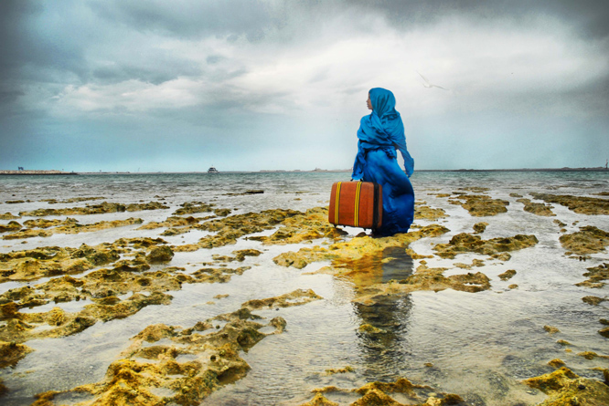 Lateefa bint Maktoum | The Last Look, 2009 | Photograph | Courtesy of Dr. Lamees Hamdan