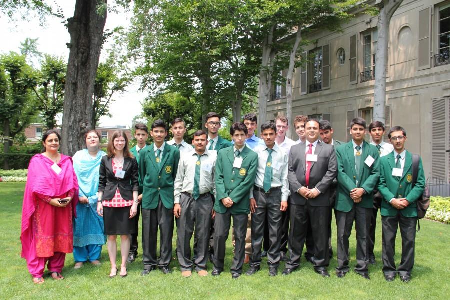 U.S.-Pakistan Global Leadership and STEM Program Participants at Meridian International Center