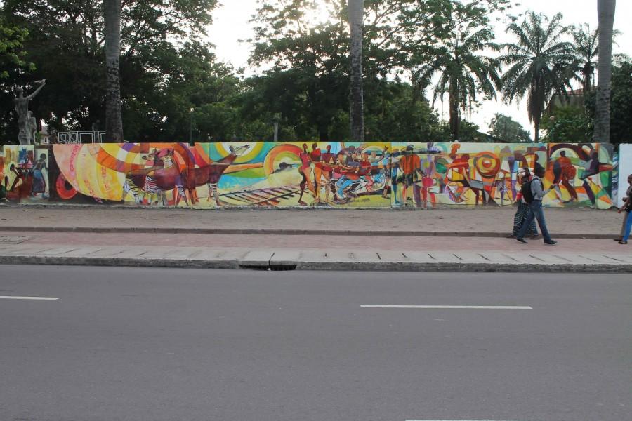 Kinshasa mural 1