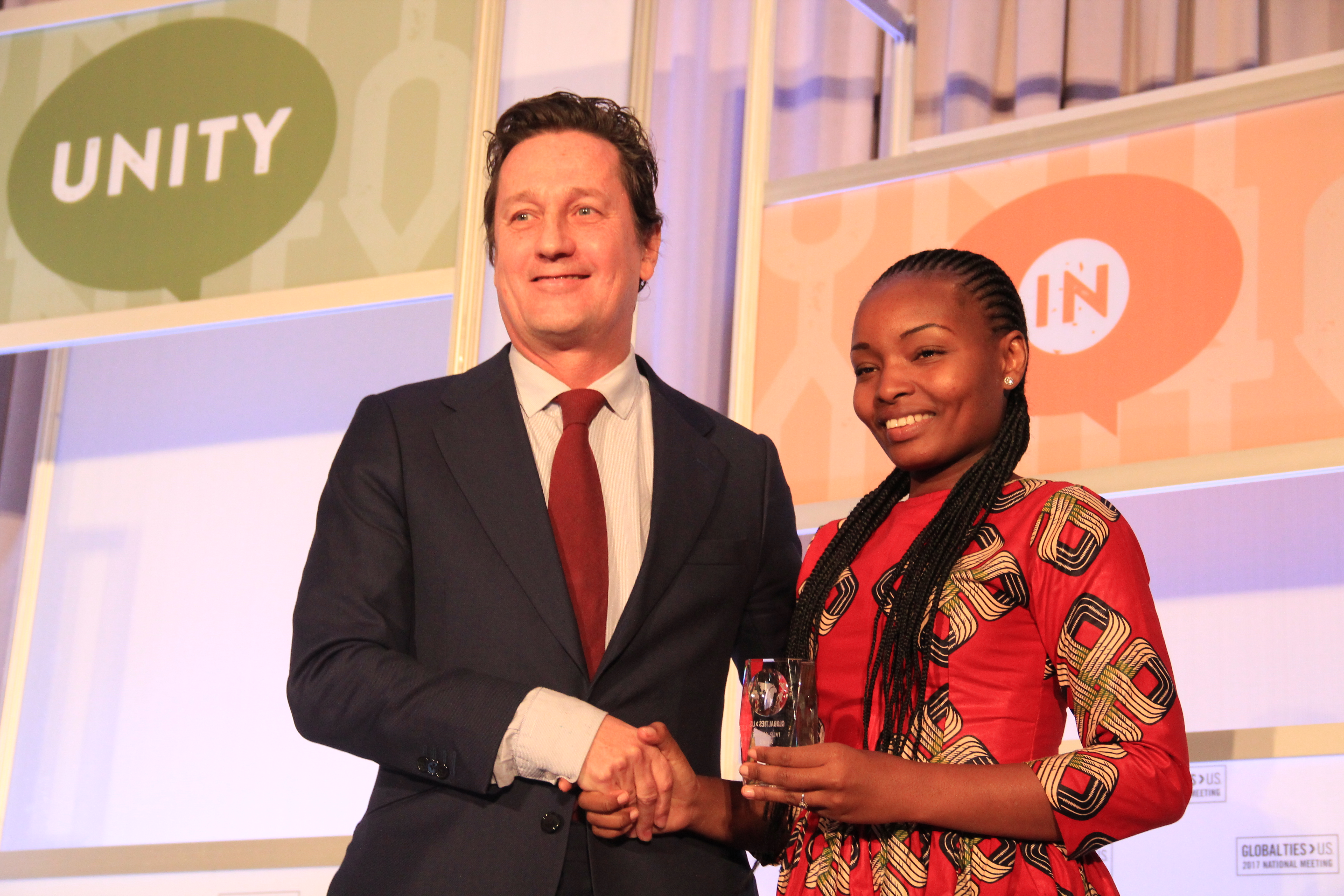 Rebecca Gyumi Receives Award for Social Innovation and Change