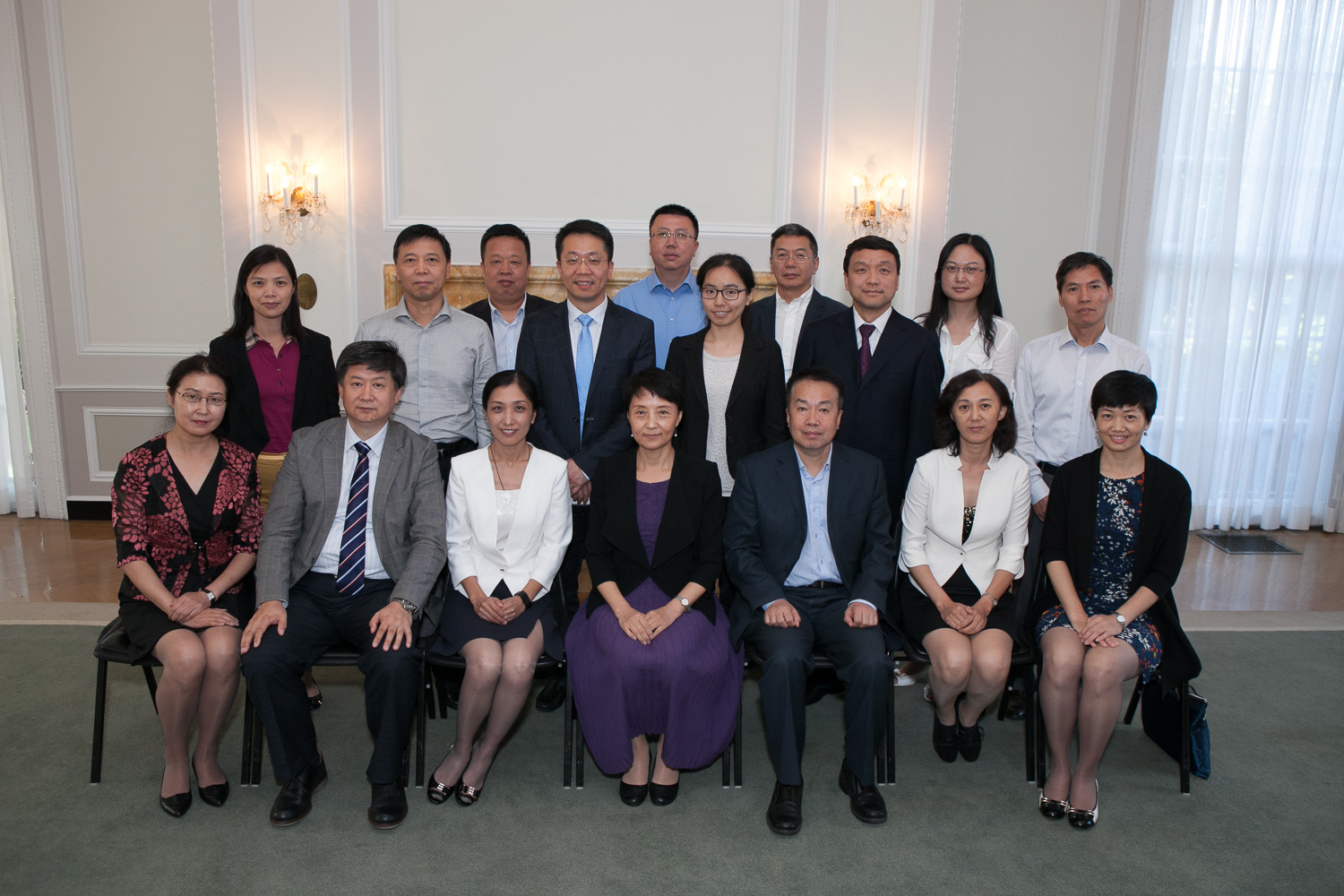 20 senior decision-makers from hospitals and national and local healthcare bureaus in China. John Boal Photography
