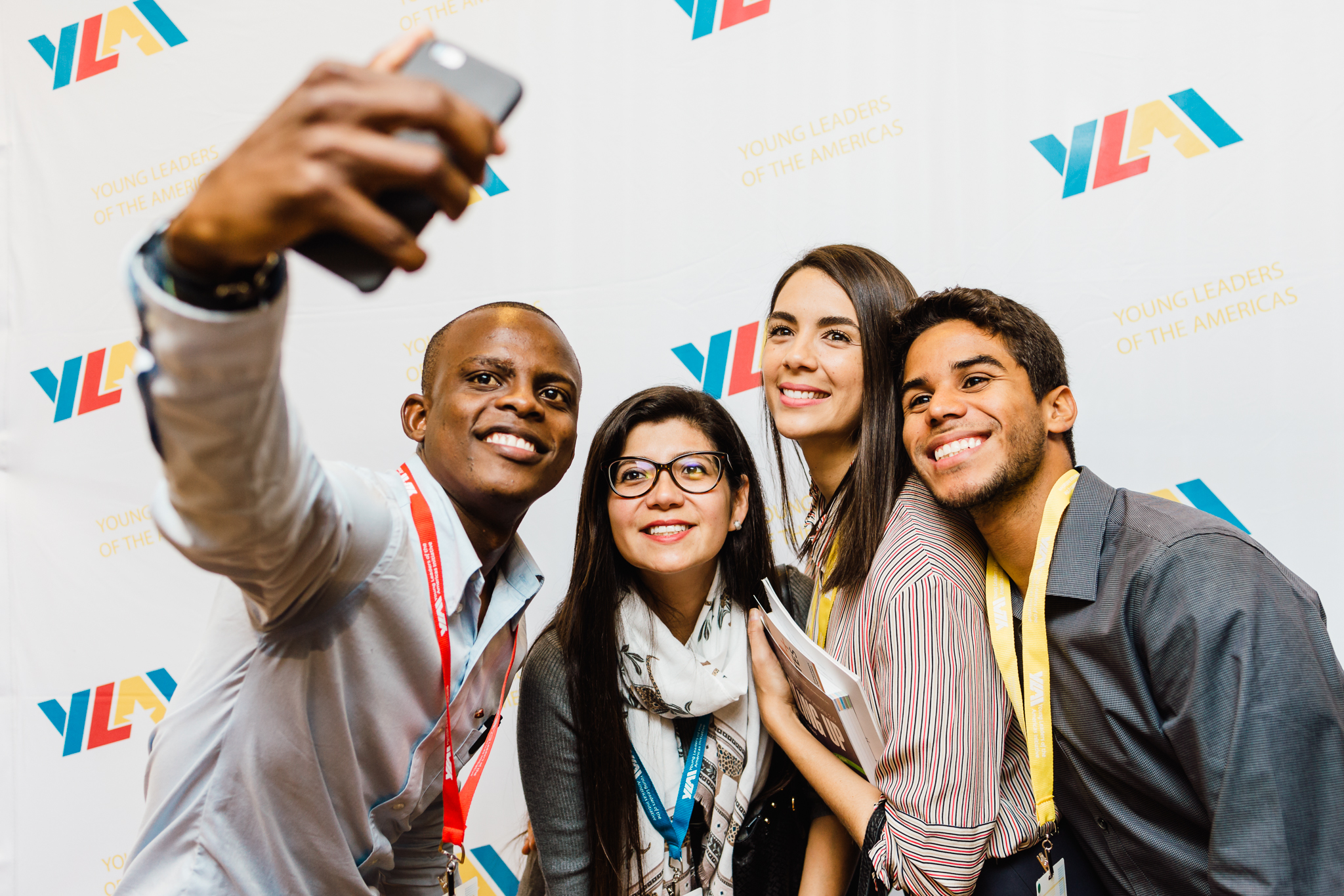 YLAI Professional Fellows Arrive to the U.S.