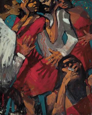 Hidden Hands, by Robert Freeman, 1987
