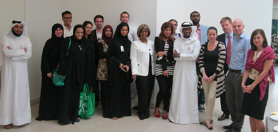 Training for Qatar Museums Authority 2012