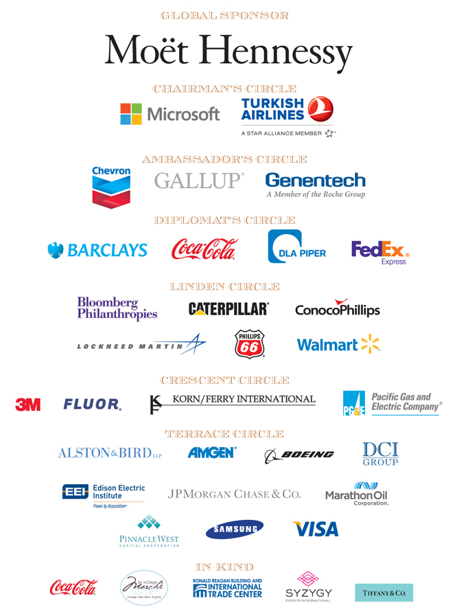 2013 Ball Sponsors