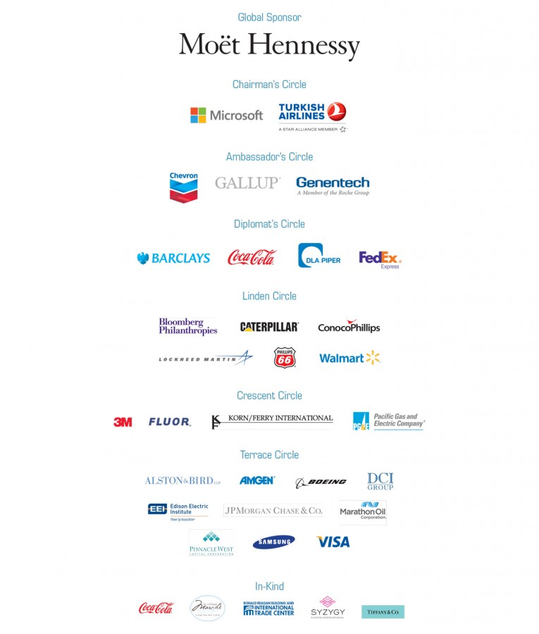 Meridian Global Leadership Summit 2013 Sponsors