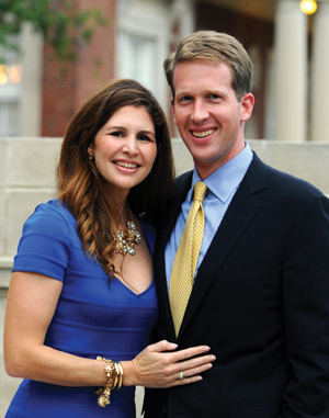 Mr. Maxmillian Angerholzer III and Mrs. Lindsay Angerholzer