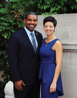 Congressman Steven Horsford and Dr. Sonya Horsford