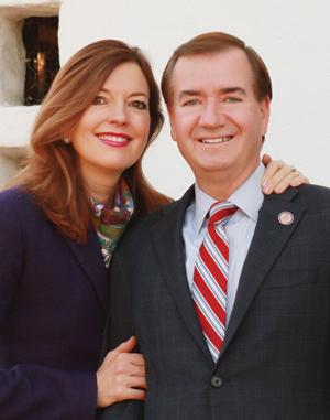 Congressman Ed Royce and Mrs. Marie Thérèse Royce