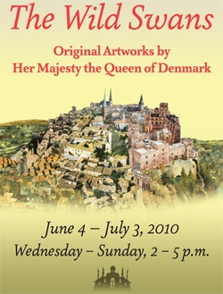 The Wild Swans: Original Artworks By Her Majesty The Queen Of Denmark