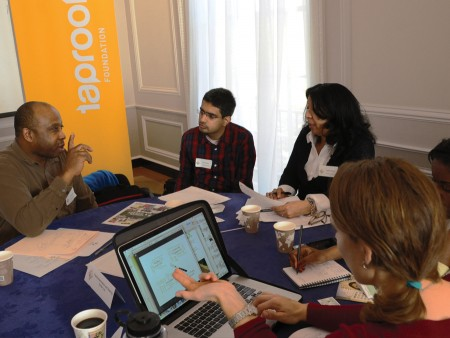 Meridian partners with Taproot Foundation to provide pro bono mentoring to community leaders.