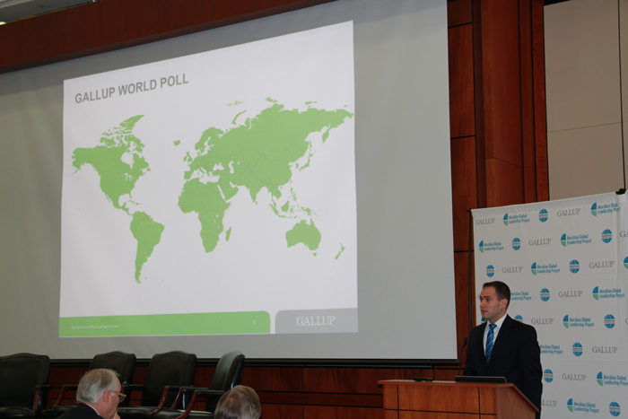Gallup's Jon Clifton shares the most current survey data.