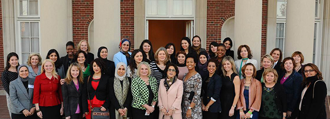 2015 Bush Fellows return to Meridian for Speed Mentoring Sessions with U.S. Women Leaders