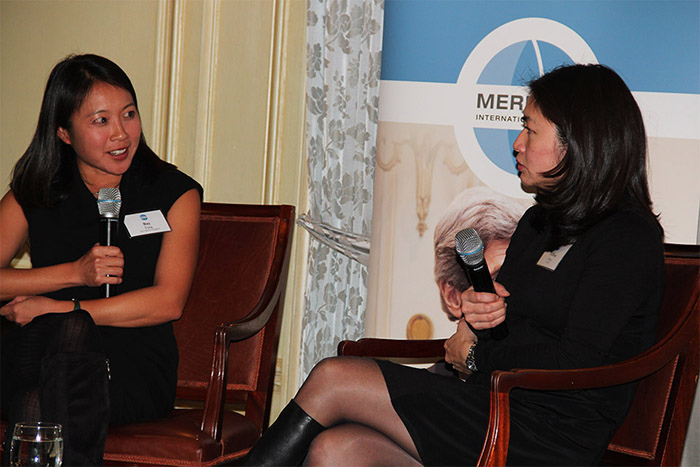 Bay Fang and Mellissa Fung discuss Journalism in 21st Century Warfare