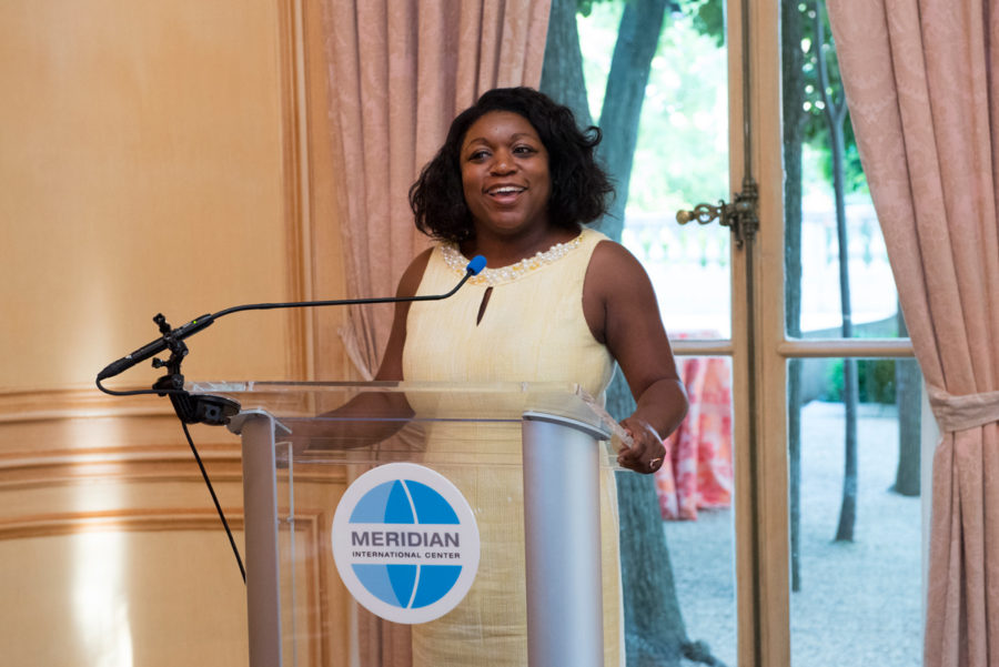 White House Social Secretary, Deesha Dyer.