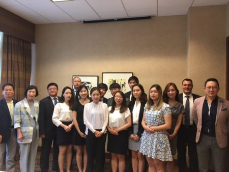 Korean delegation meets with local Korean-American Community Leaders in Chicago