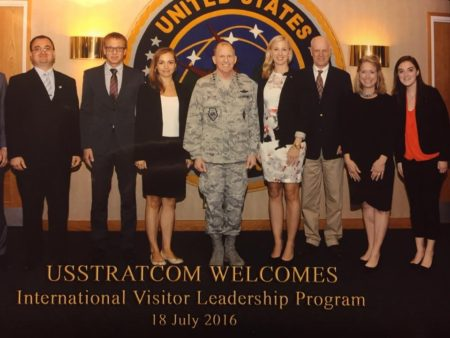 USSTRATCOM Welcomes US European Security Issues IVLP