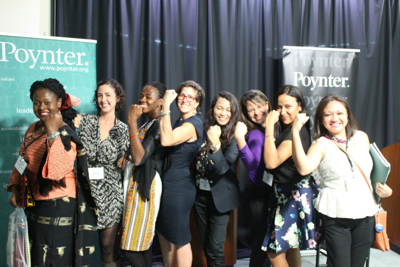 WHA Murrow Participants at the Poynter Institute