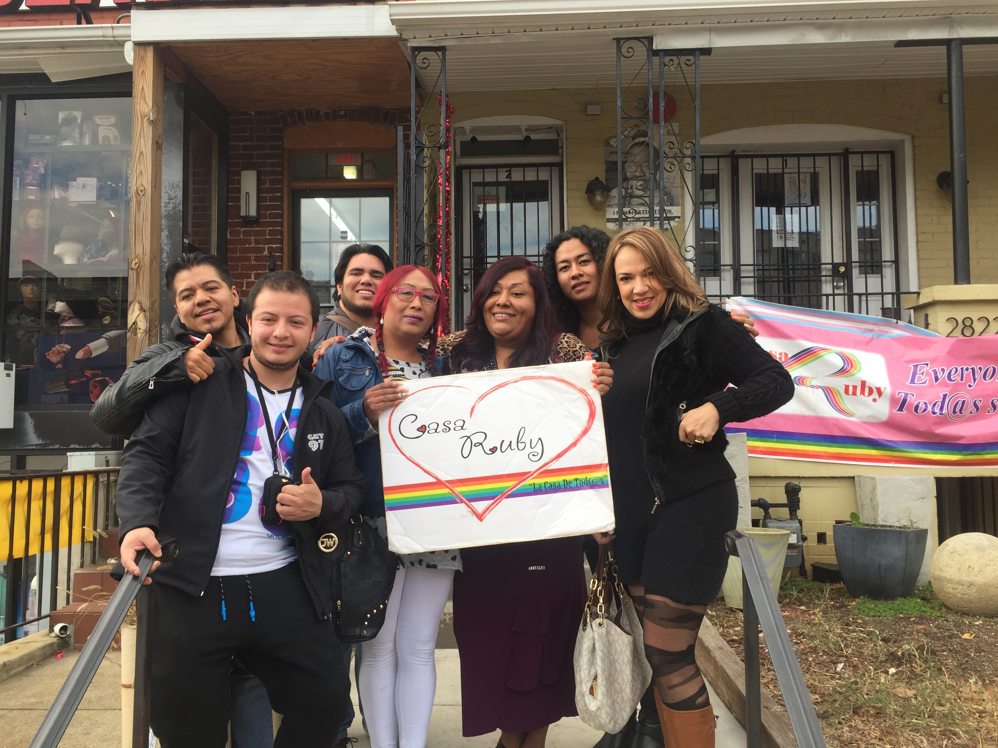 IVLP Participants after an appointment at Casa Ruby in Washington, DC