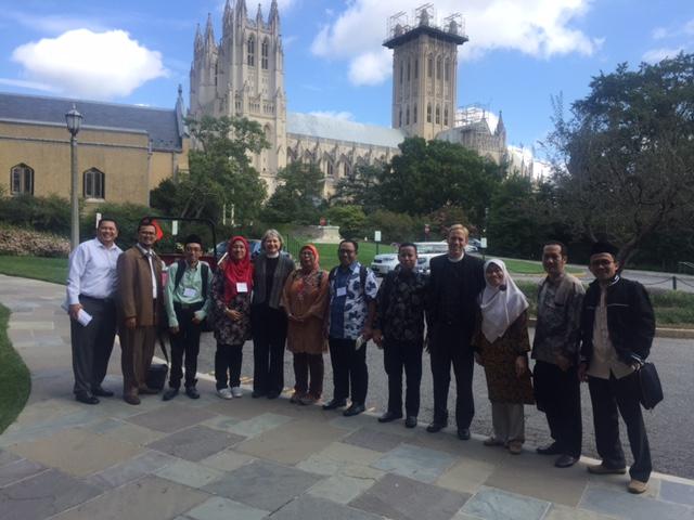Faith Based Education IVLP participants tour St. Albans School in Washington, DC
