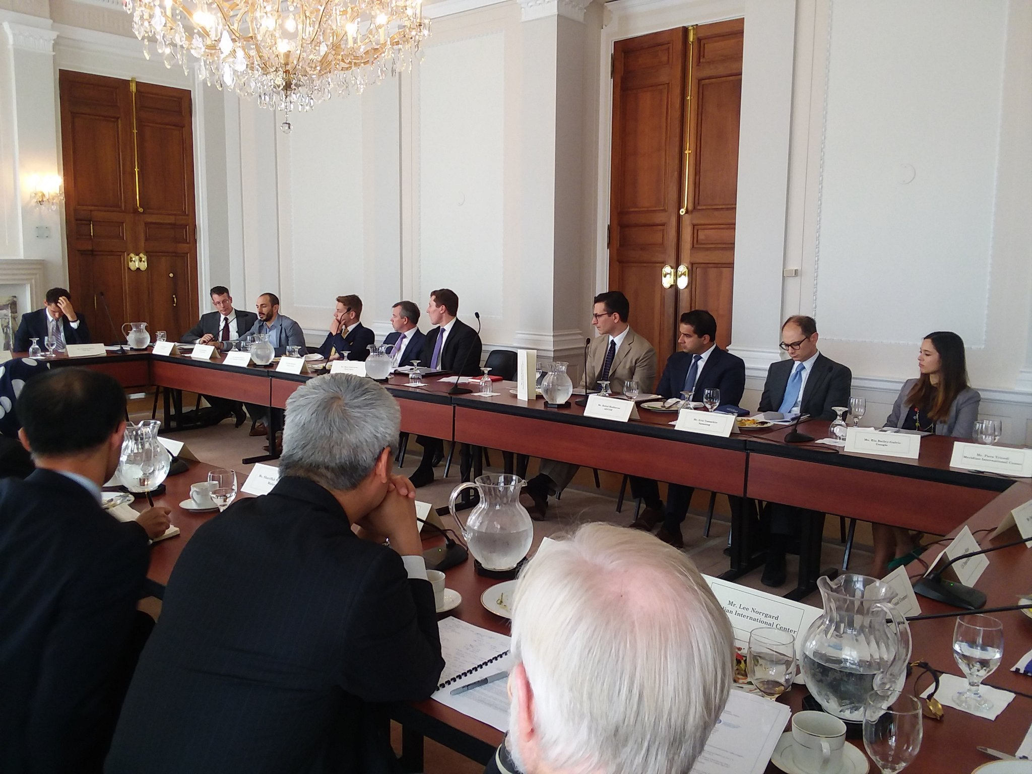 Private sector leaders meet with high-level French experts in data privacy and artificial intelligence to discuss the future of privacy policy in the U.S. and European Union
