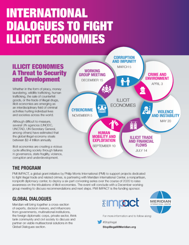 International Dialogues to Fight Illicit Economies Fact Sheet